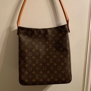 AUTHENTIC LOUIS VUITTON TALL LOOPING BAG GUC